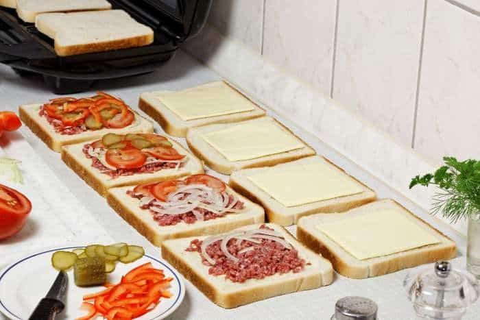 Przygotowanie tostów